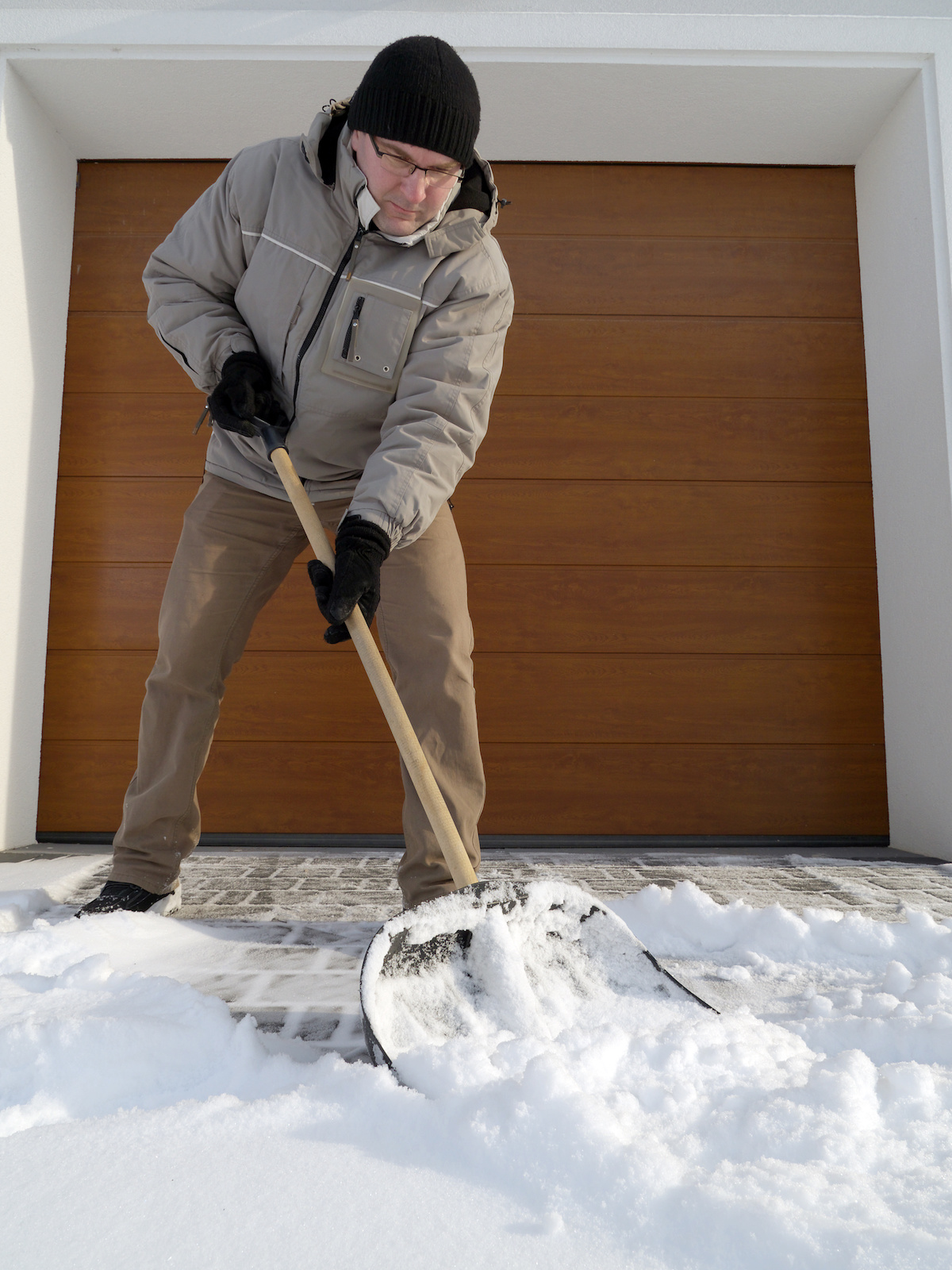Garage Door Freezing And How To Prevent It This Winter Alpha Doors